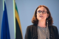 Visit of Cecilia Malmström, Member of the EC in charge of Trade, to Cape Town. European Union, 2019 Photographer: Rodger Bosch Source: EC - Audiovisual Service.