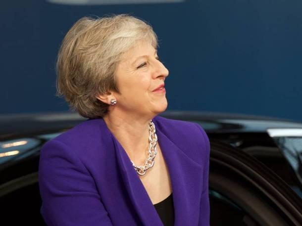 Theresa May 2018 UK