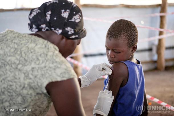 Uganda. South Sudanese Refugees