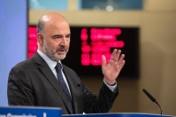 Pierre Moscovici, Member of the EC in charge of Economic and Financial Affairs, Taxation and Customs, will give a press conference on the publication of the Spring 2019 Economic Forecast. (European Union, 2019)