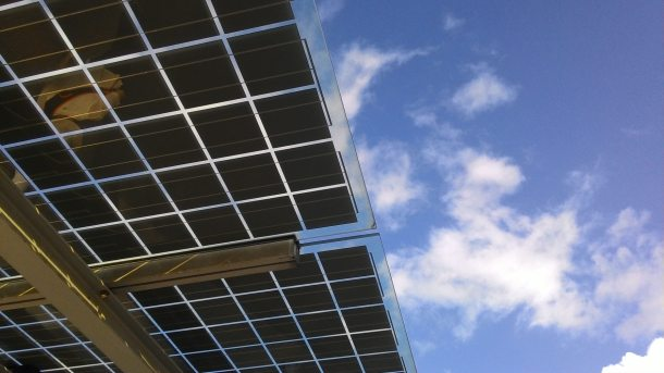 solar panel 19