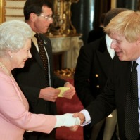 Boris Johnson and the Queen. (From http://www.boris-johnson.com/photos/)