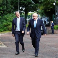 British Prime Minister, Boris Johnson visited Northern Ireland. (10 Downing Street photo, some rights reserved).