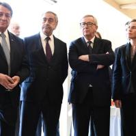 Participation of Jean-Claude Juncker, President of the EC, and Federica Mogherini, Vice-President of the EC, in the Conference on Cyprus Date: 12/01/2017. Location: Geneva - Palais des Nations © European Union, 2017. Source: EC – Audiovisual Service