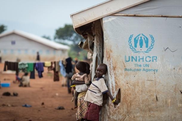 refugee kid camp