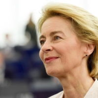 Ursula Von der Leyen, Candidate for President of the EC, at the Plenary session of the EP. European Union, 2019 Source: EC - Audiovisual Service
