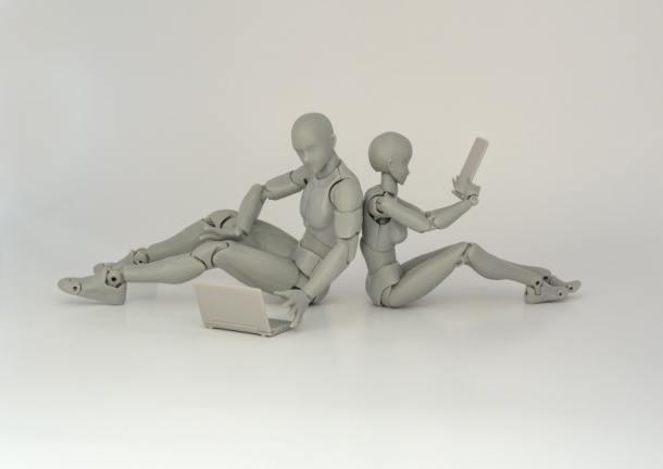 AI robots tablet