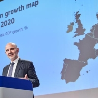 Pierre Moscovici, Member of the EC in charge of Economic and Financial Affairs, Taxation and Customs, holds the press conference on the Autumn 2019 Economic Forecast. European Union, 2019 Source: EC - Audiovisual Service.