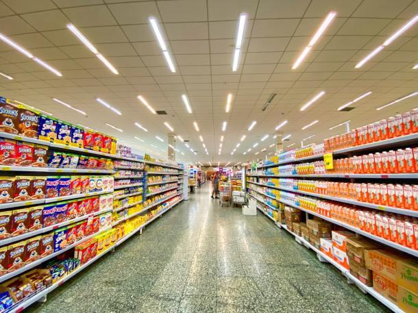 supermarkets shelves
