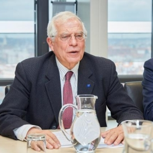 Josep Borrell Fontelles, High Representative of the Union for Foreign Affairs and Security Policy. Co-operators: Photographer: Claudio Centonze European Union, 2020 Source: EC - Audiovisual Service.