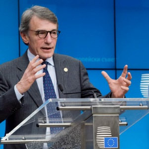 EU Parliament President David Sassoli (Credit: European Parliament)