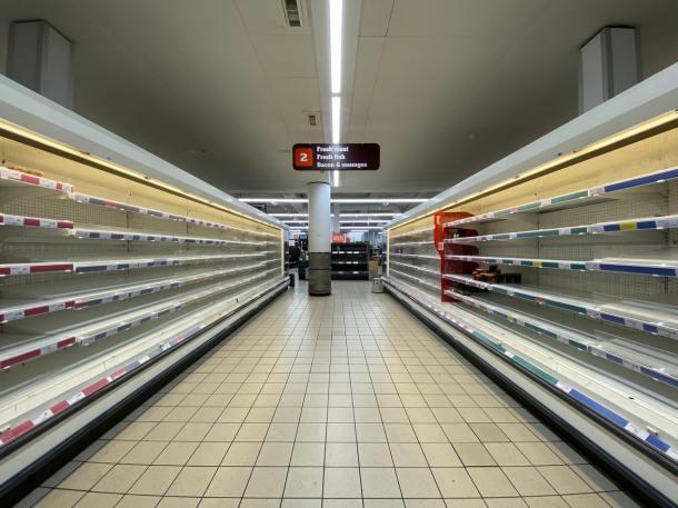 covid supermarket