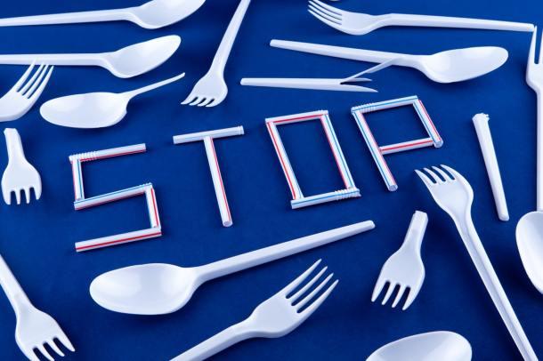 fork plastic