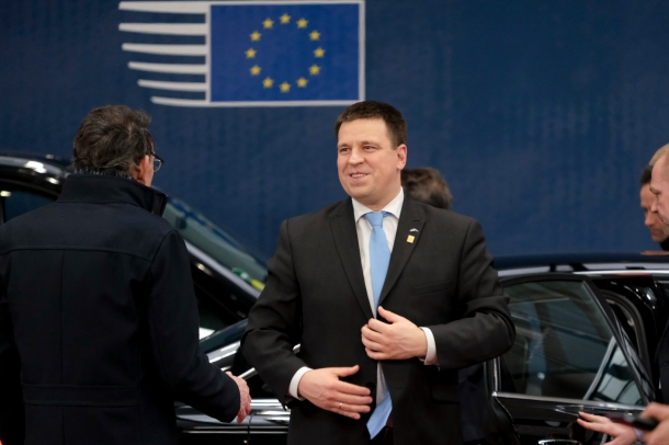 estonia prime minister